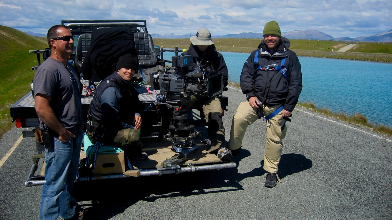 Key Grip: Sam Strain, Edit House Director Niclas Bergman