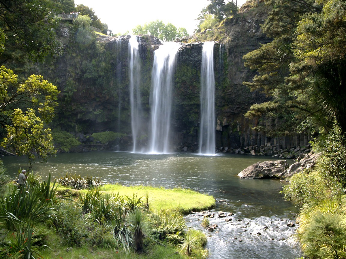 North Island Waterfall