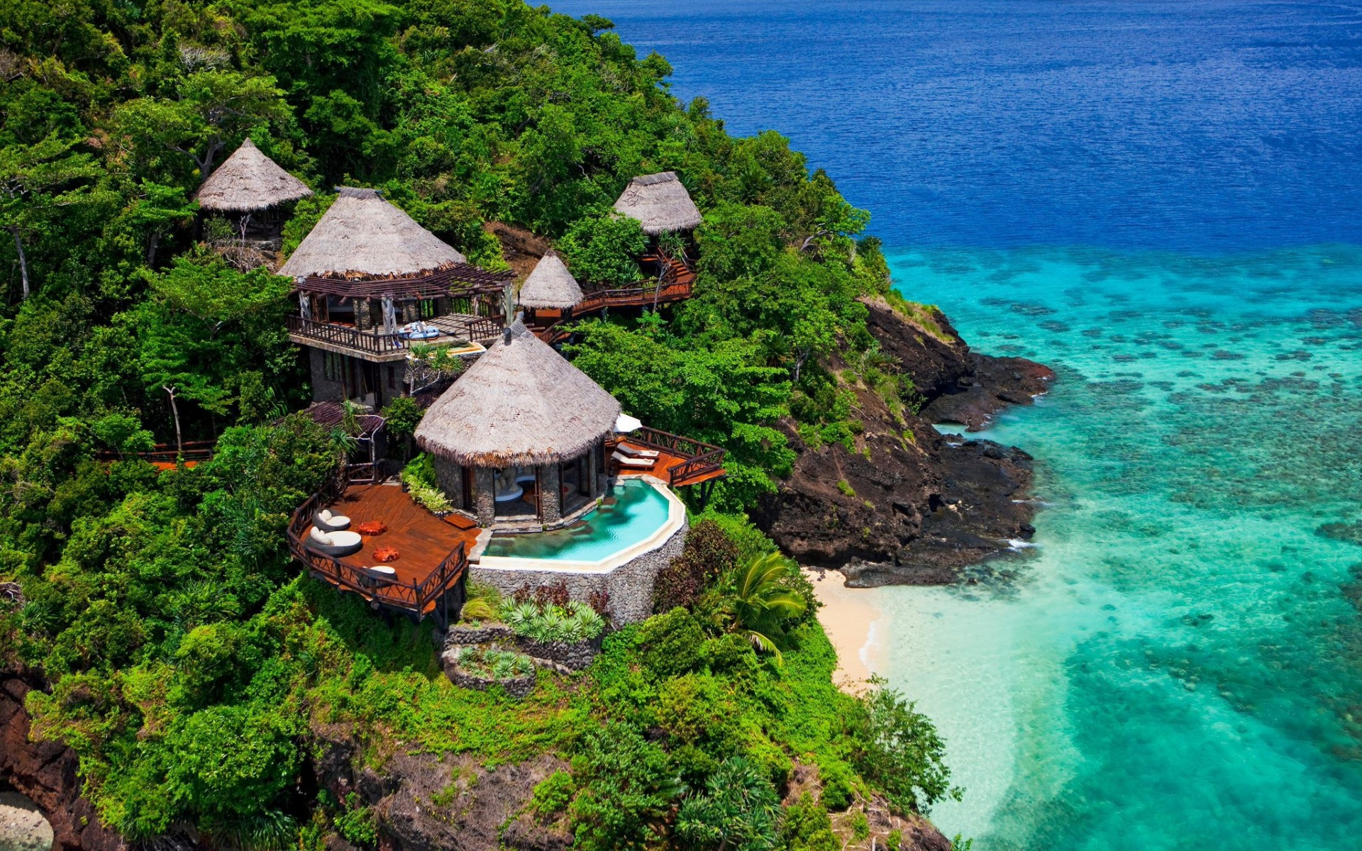 Fiji Island Bures