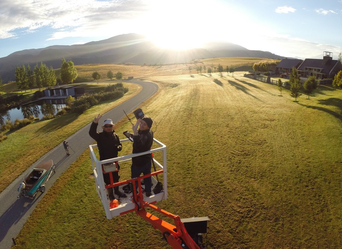 Subaru BTS Photographer: David Westphal, Drone Cam Wood