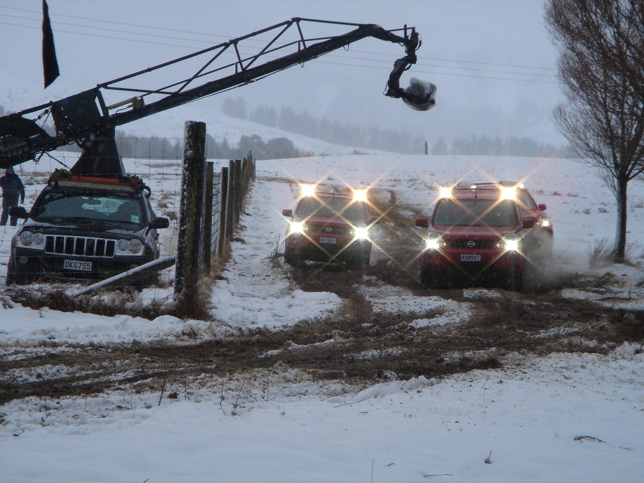 Nissan X Trail Crane BTS