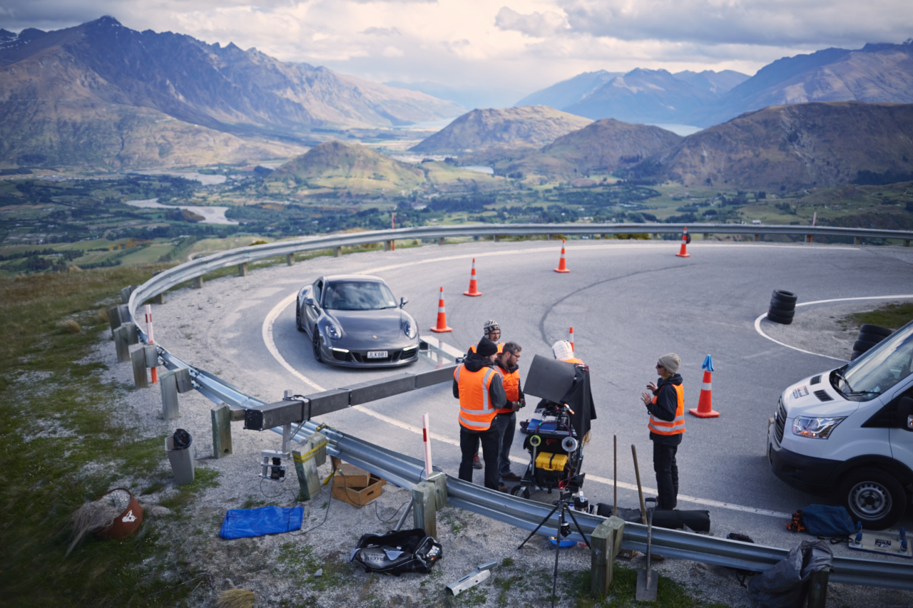 Porsche BTS Photographer :Jan Steinhilber, Rig: Move n' shoot