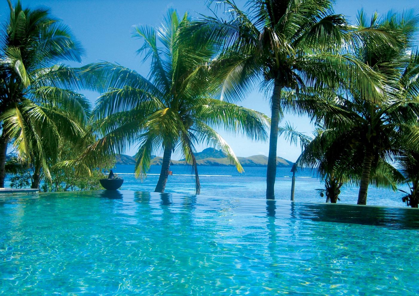 Hotel Pool Fiji