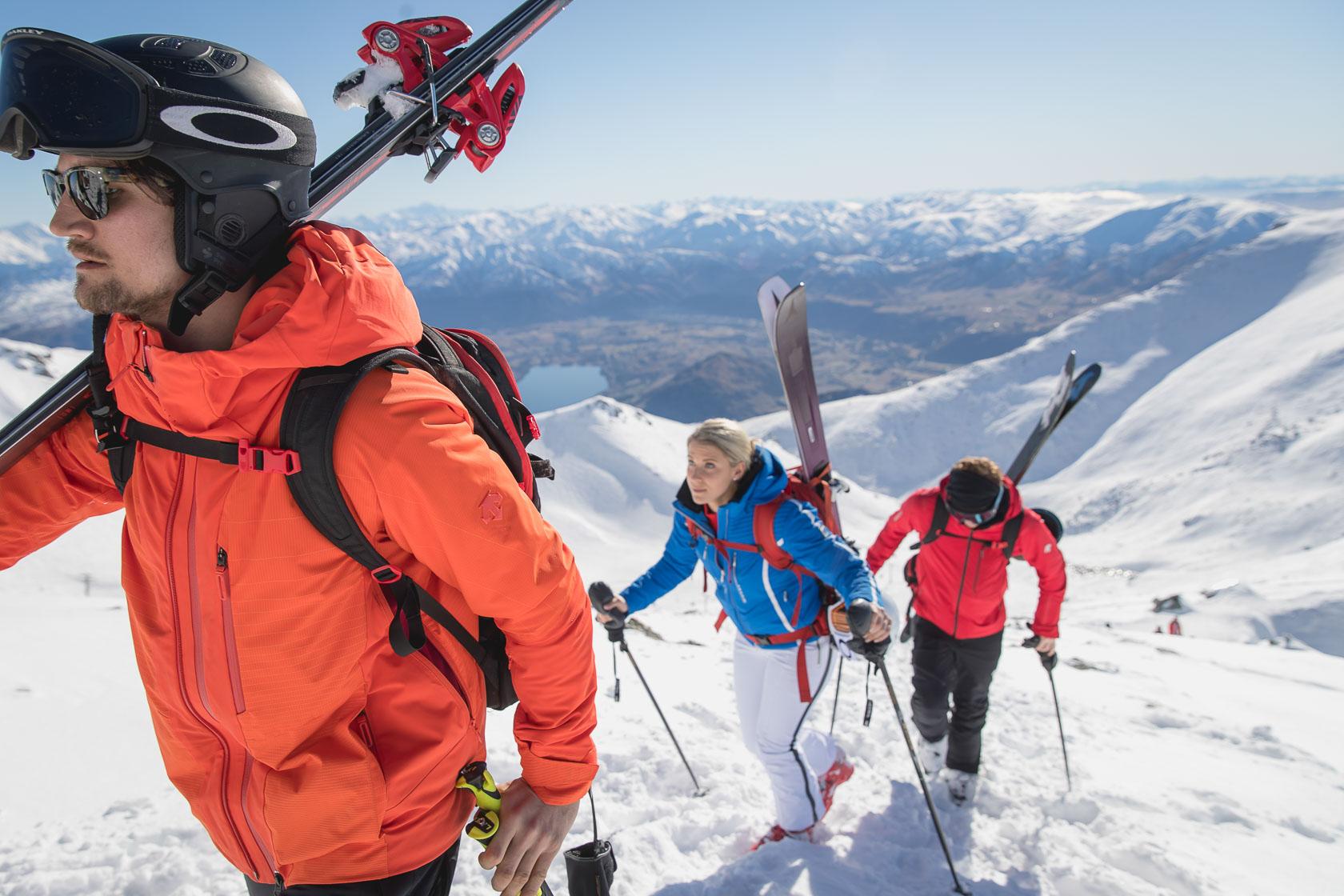 Descente Ski Wear Brand Video